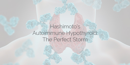 Hashimoto's Autoimmune Hypothyroid - The Perfect Storm