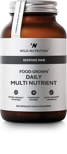 Food-Grown® Daily Multi Multi Nutrient 45 + (Men) 60 caps