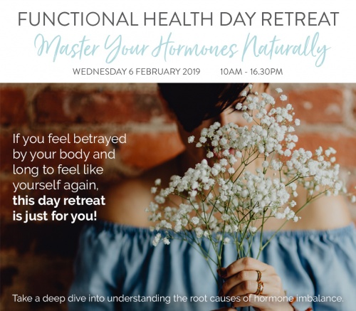 Functional Health Day Retreat -       Master Your Hormones Naturally