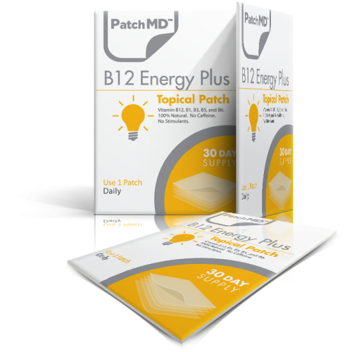 B12  Energy Plus - Topical Patch