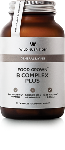 Food-Grown® B Complex Plus - 60 caps