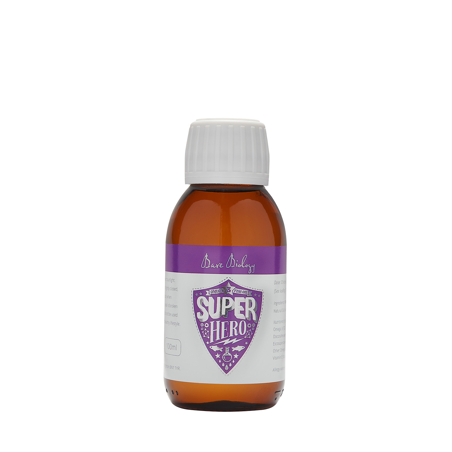 Super Hero Pure Omega Fish Oil (Children) - 100ml