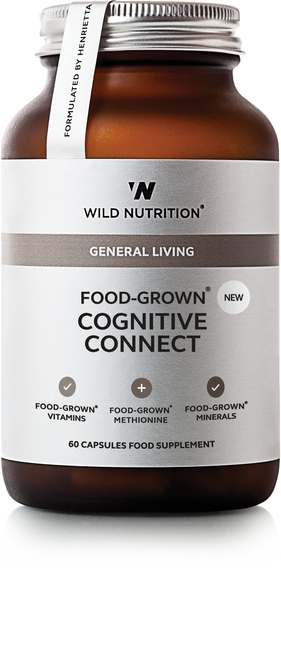 FOOD-GROWN® Cognitive Connect - 90 caps