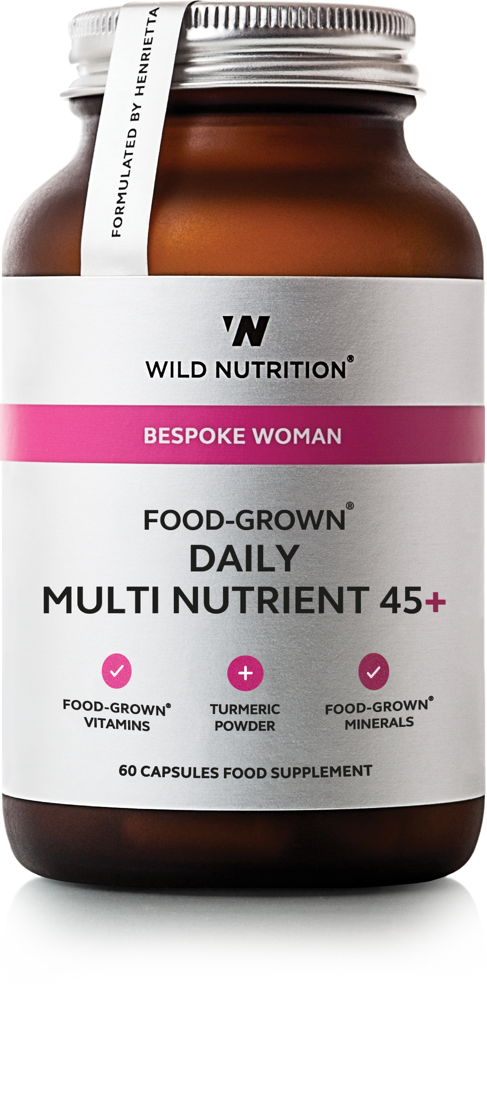 FOOD-GROWN® Daily Multi Nutrient 45+ - 60 caps