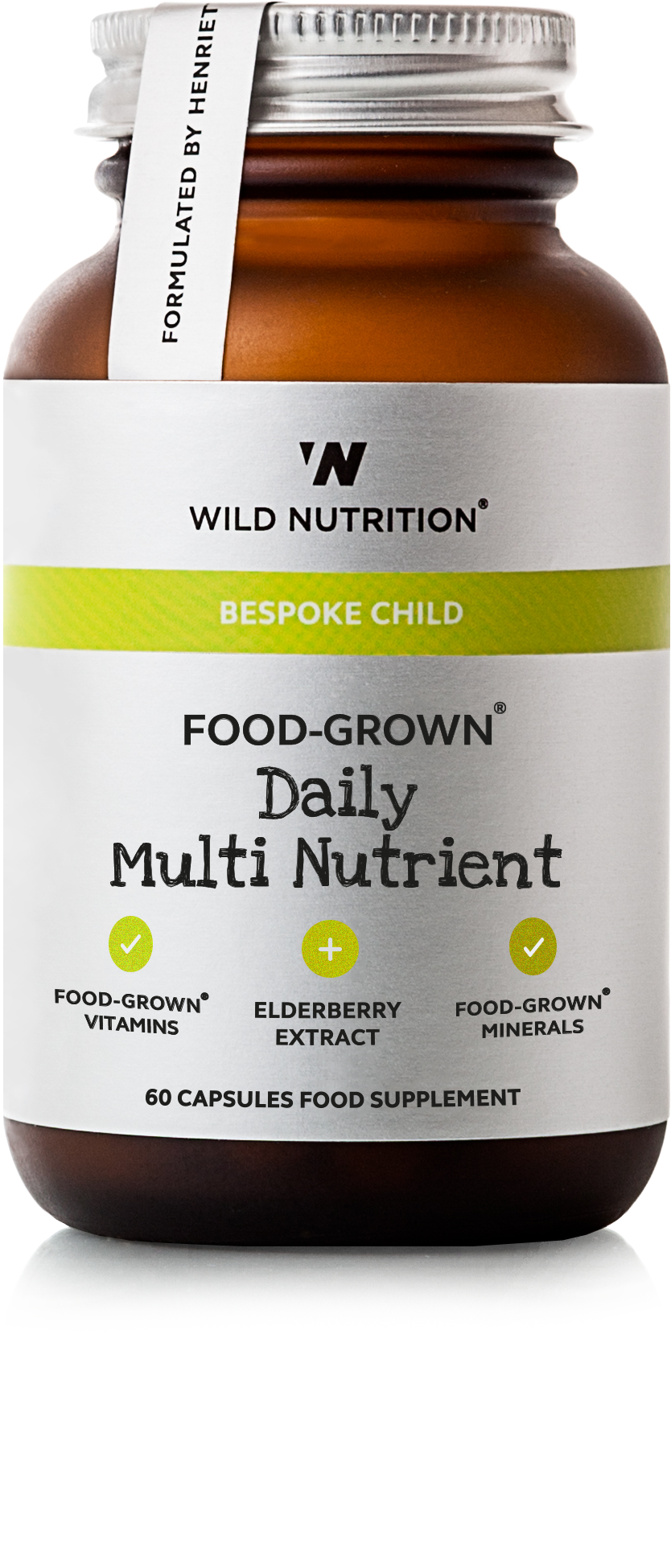 FOOD-GROWN® Daily Multi Nutrient (Children) 60 caps