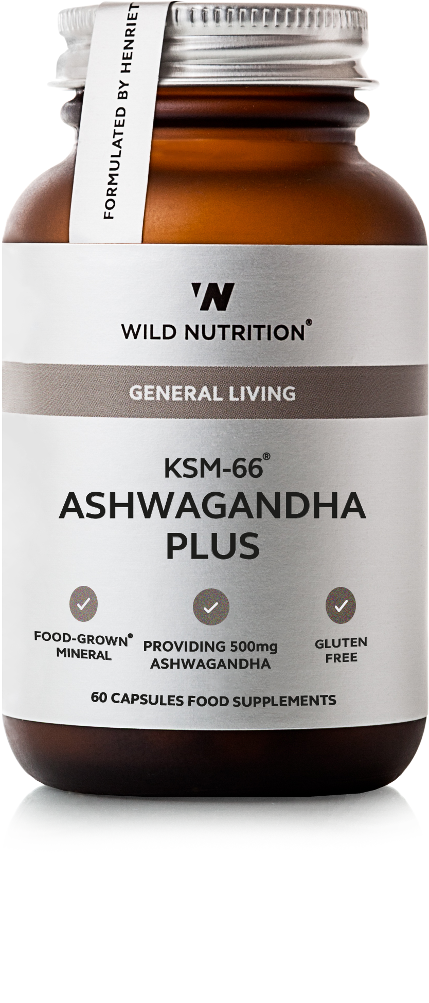 KSM-66® Ashwagandha Plus - 60 caps