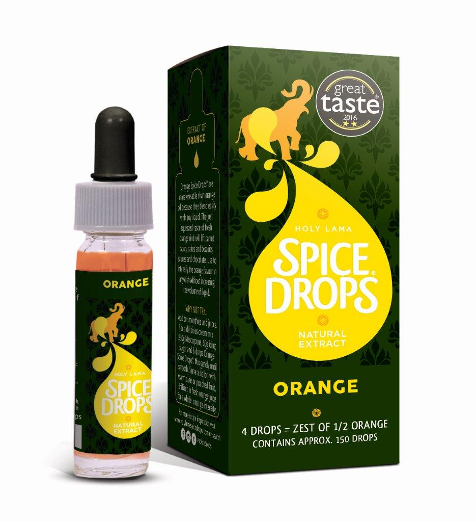 Orange Zest Natural Extract Spice Drops 5 ml