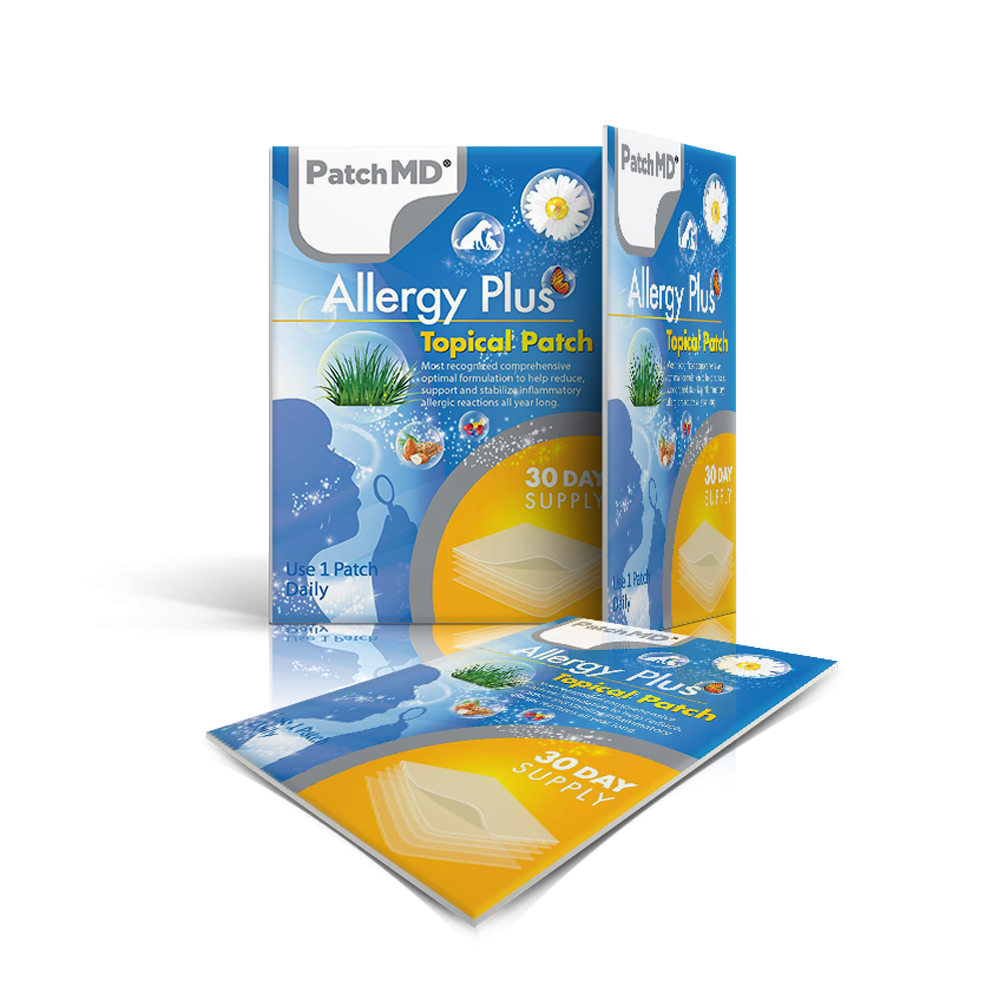 Allergy Plus - Topical Patch
