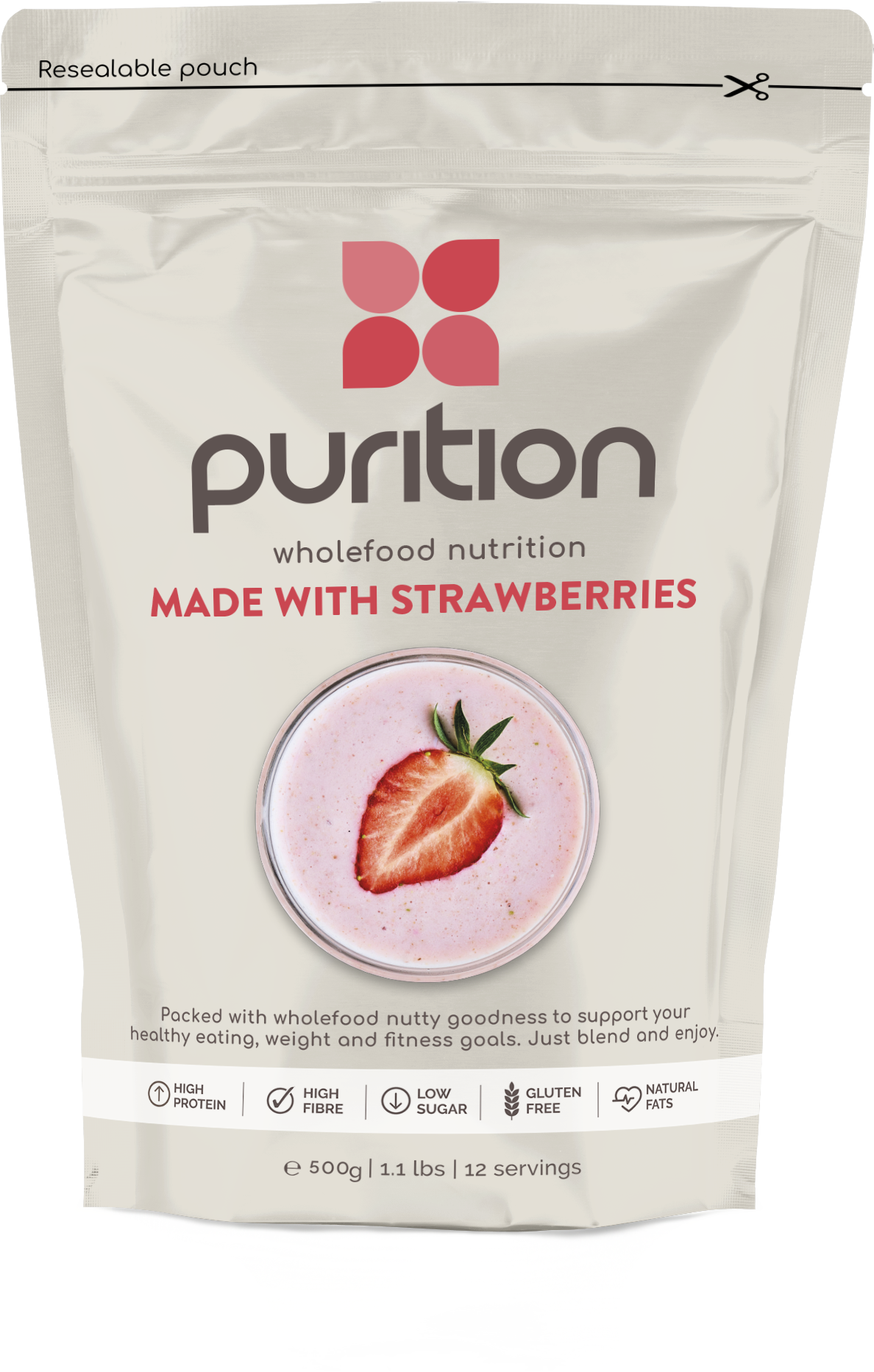 Strawberry Protein Powder - 500g