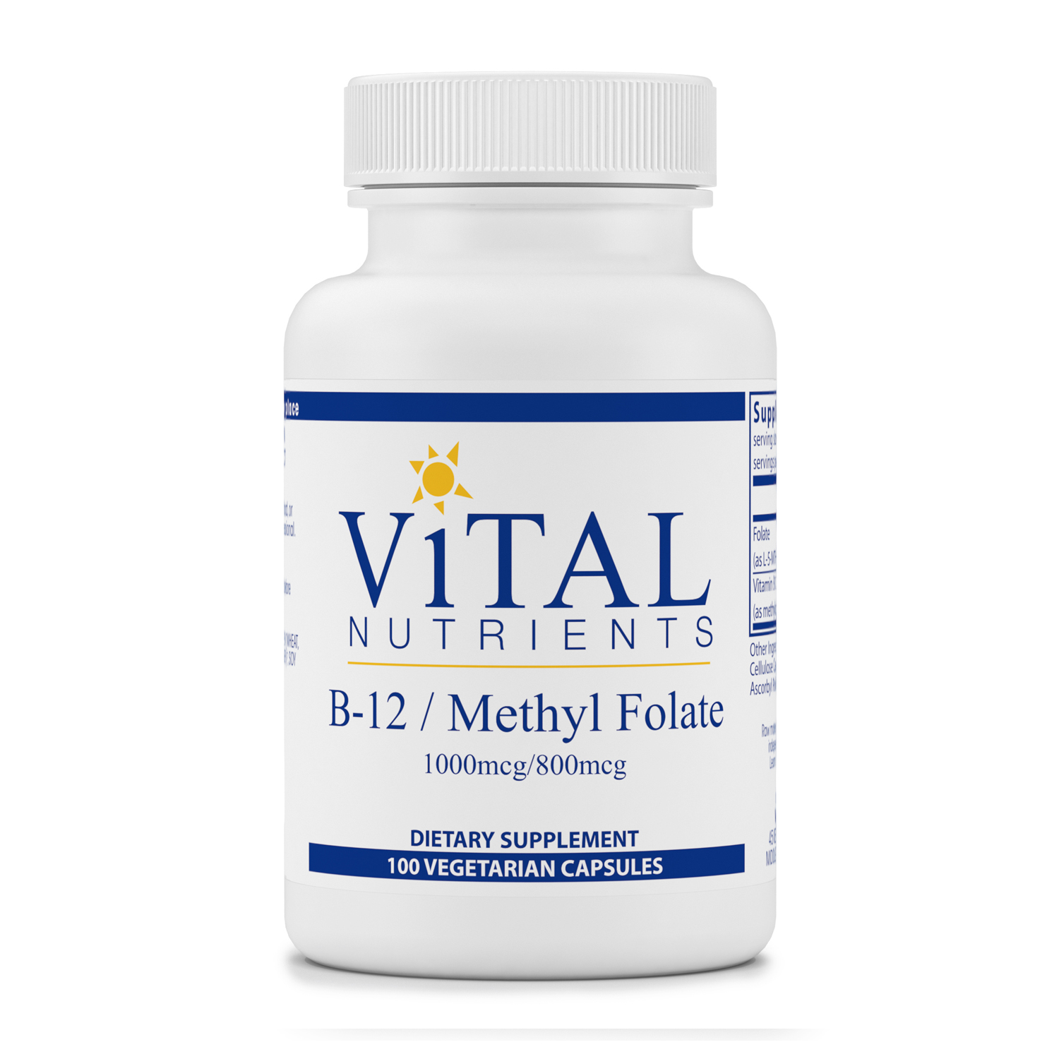 B12 Methyl Folate