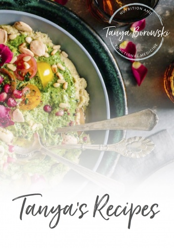 Tanya's Recipes A5 Book
